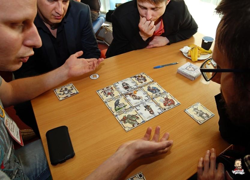 Настольная игра Заварушка в трактире (Bierdeckel wars)
