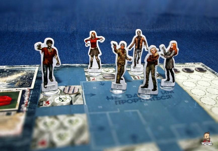 Зомби наседают - игра Мертвый сезон