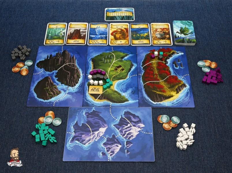 Начало игры Восьмиминутная империя: Легенды