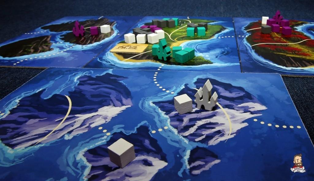 Города и армии в игре Восьмиминутная империя: Легенды