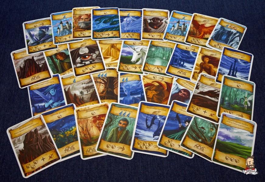 Все карты игры Восьмиминутная империя: Легенды