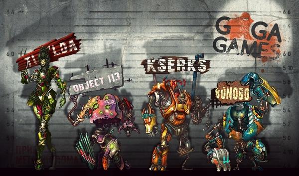 Промо игры про боевых роботов