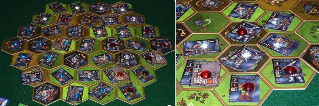 Настольная игра Conquest of Fallen Lands