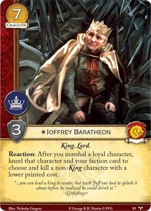 09 Joffrey Baratheon