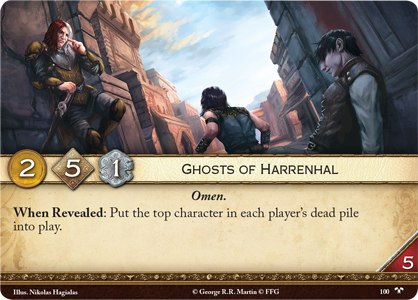 20 Ghosts of Harrenhal