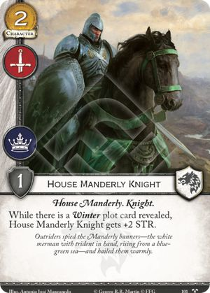 01 House Manderly knight