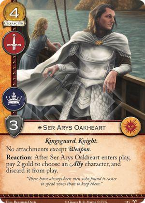 15 Ser Arys Oakheart