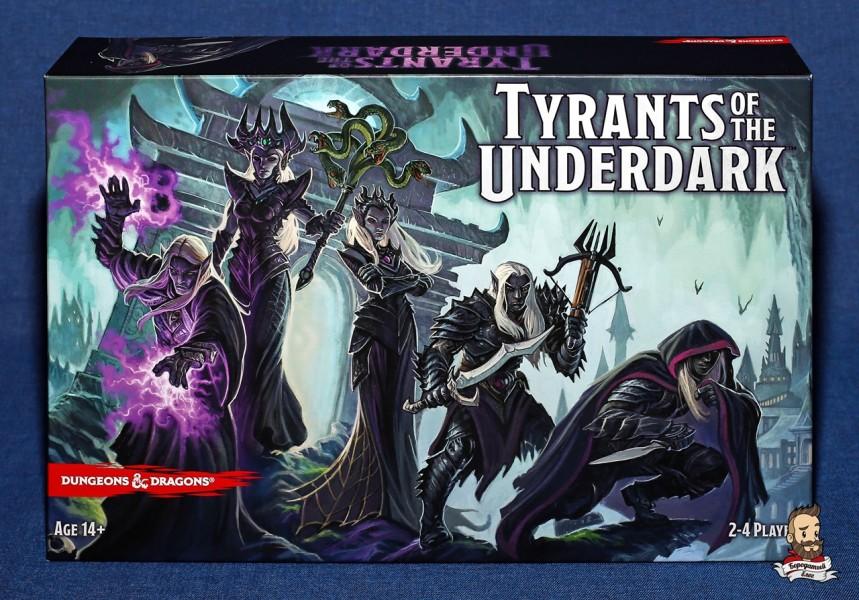 Настольная игра Tyrants of the Underdark