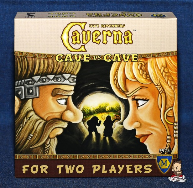 Настольная игра Caverna. Cave vs Cave