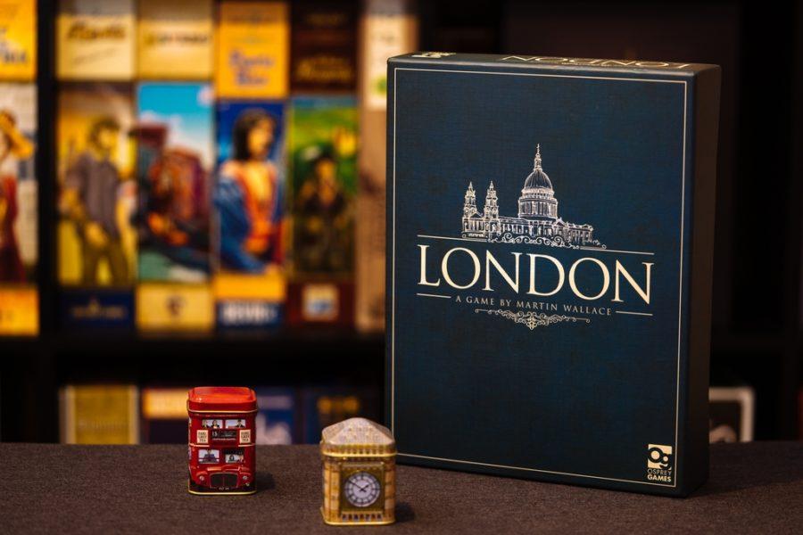 Коробка с игрой London