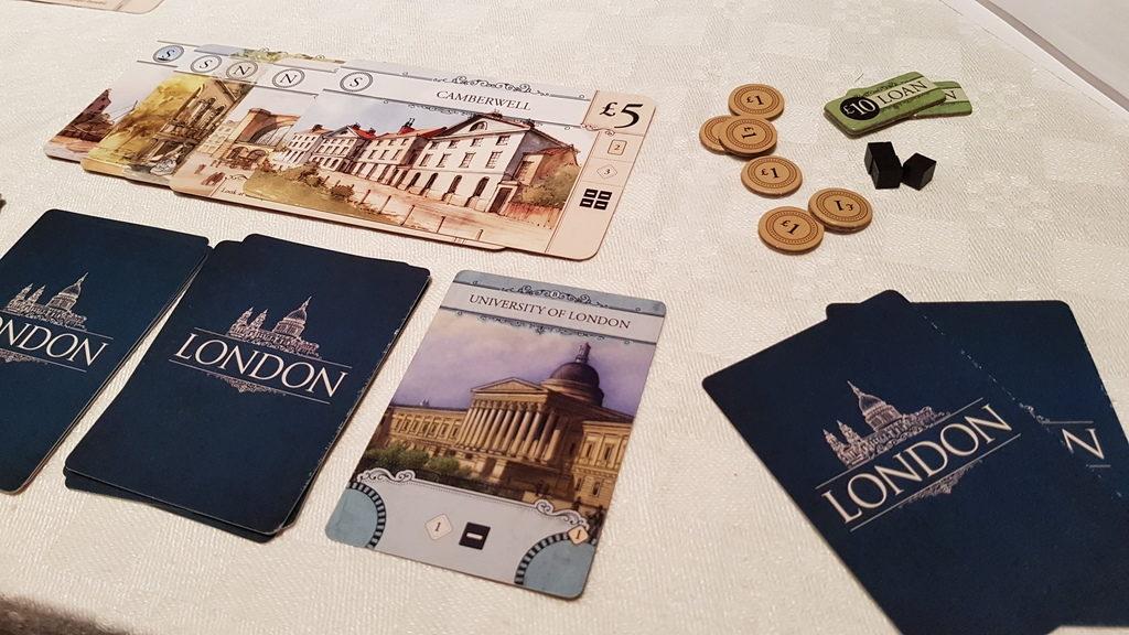 Компоненты игры London