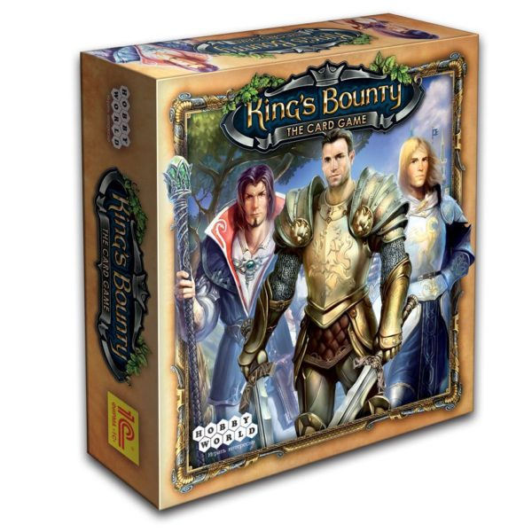 Коробка с игрой King's bounty