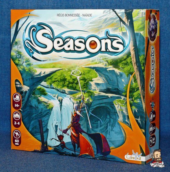 Коробка с игрой Сезоны (Seasons)