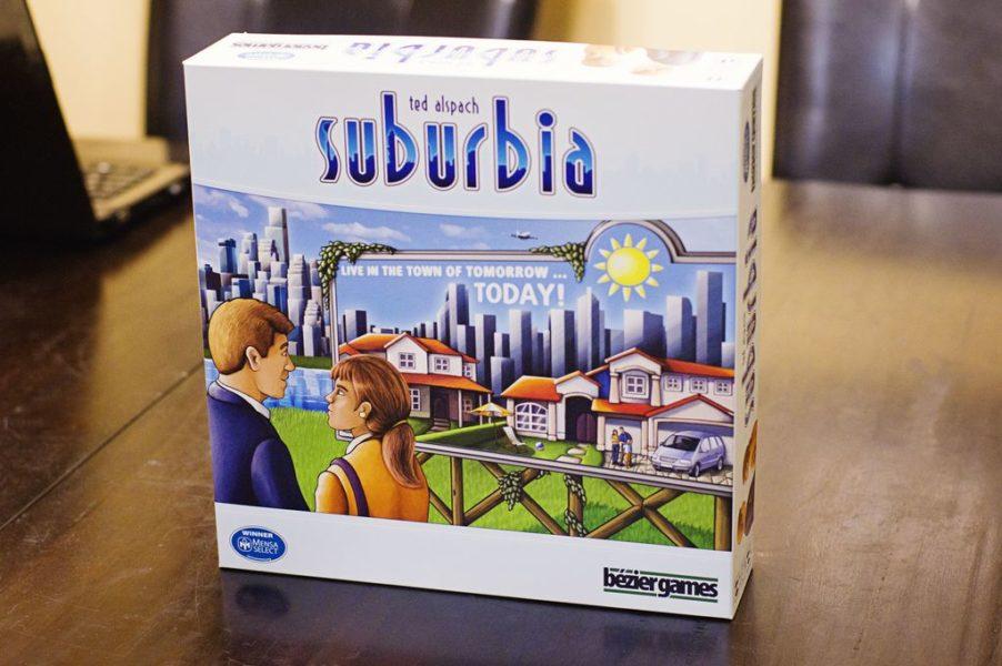 Субурбия