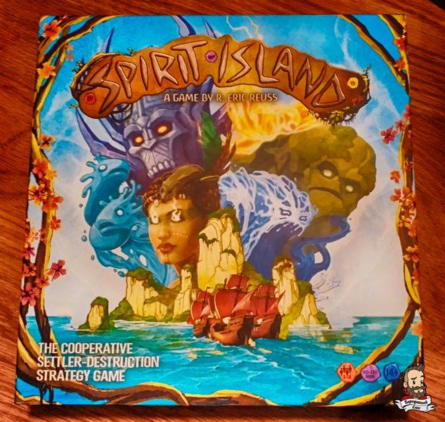 Коробка с игрой Spirit Island