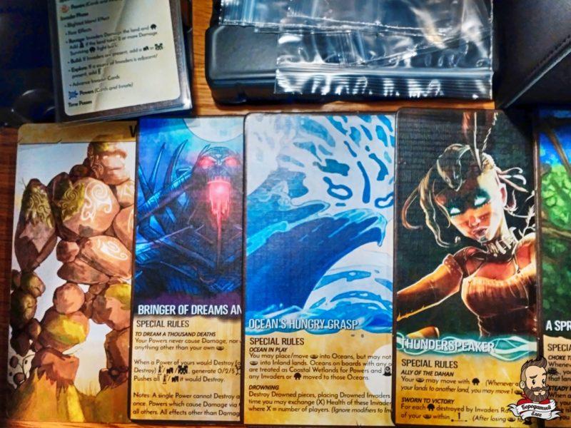 Игровые персонажи - духи и шаманы острова