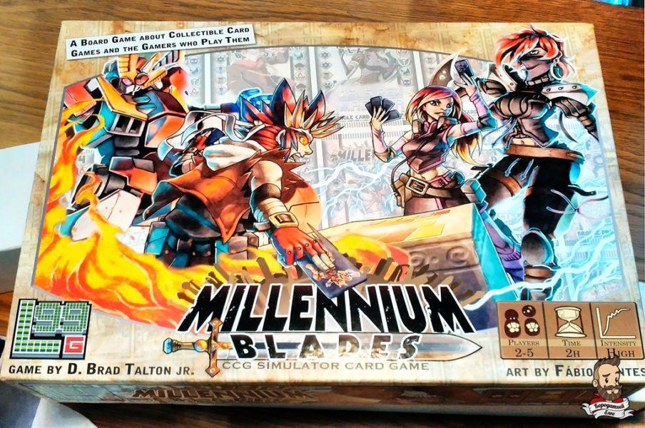 Коробка с игрой Millennium Blades
