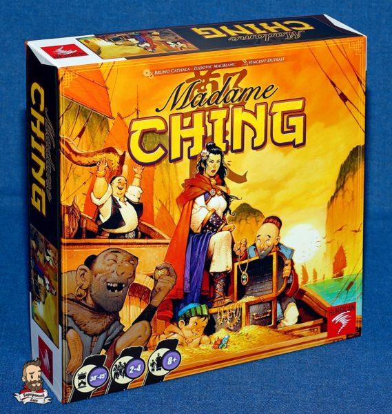 Коробка с игрой Madame Ching (Мадам Чжэн)