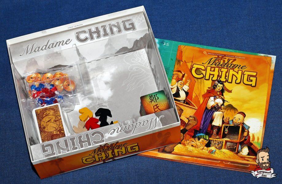 Компоненты игры Madame Ching (Мадам Чжэн)