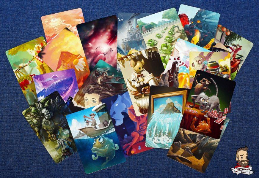 Иллюстрации игры Муза