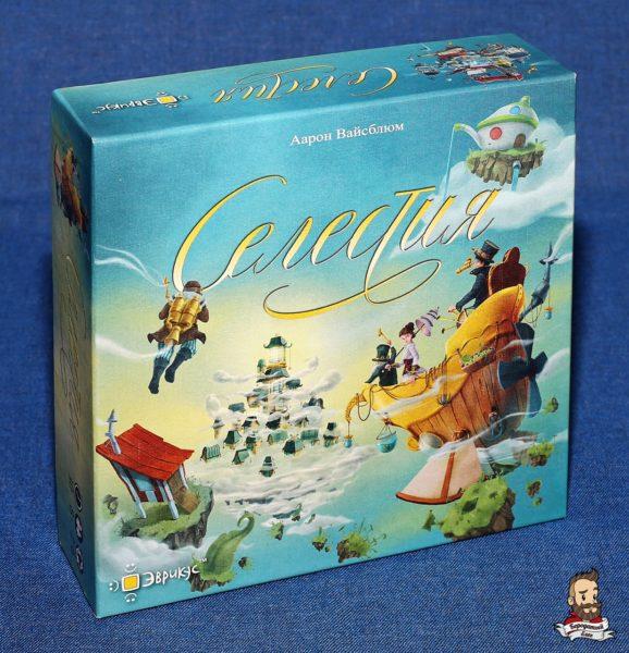 Коробка с игрой Селестия (Celestia)