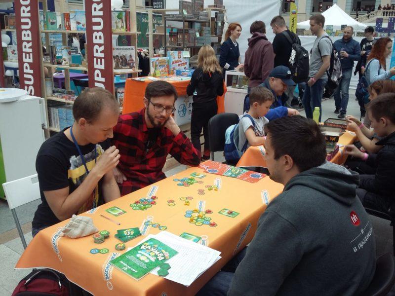Играем в Клумбу с ребятами из блога 2d6